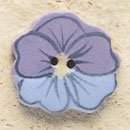 43182 - Blue & Lavender Pansy - 3/4in x 3/4in